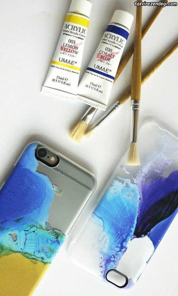 نقاشی روی گوشی