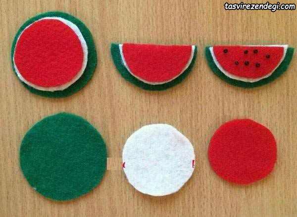 هندوانه نمدی