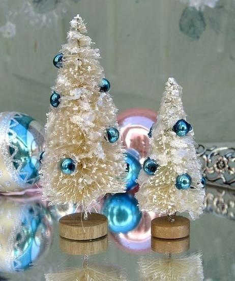ساخت درخت کریسمس با شیشه شور