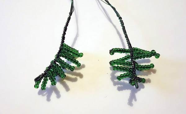منجوق بافی , ساخت درخت کریسمس مصنوعی