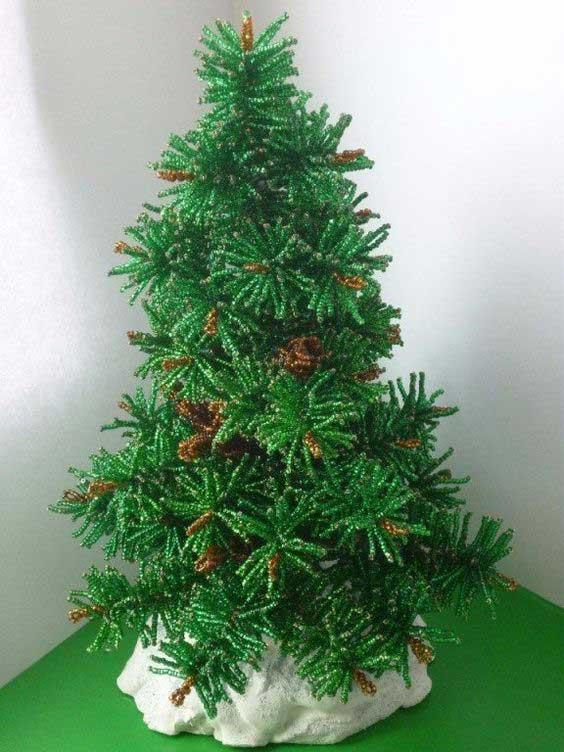 ساخت درخت کریسمس با منجوق
