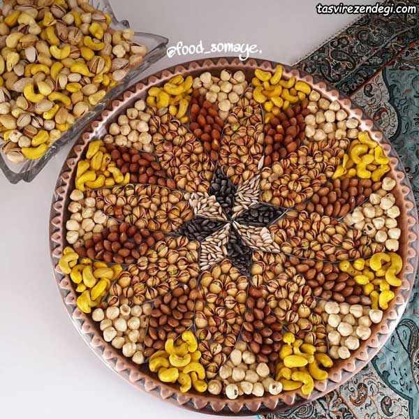 مدل تزئین آجیل عید نوروز