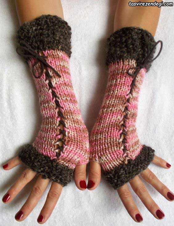 دستکش بدون انگشت دخترانه