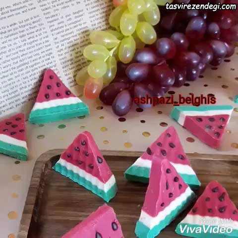 شکلات شب یلدا به شکل هندوانه