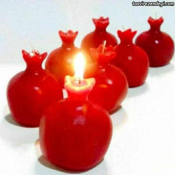 شمع انار