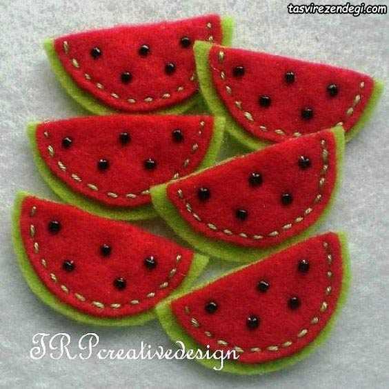 هندوانه نمدی گیفت شب یلدا