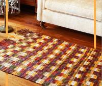آموزش بافت قالیچه کاموایی قلاب بافی