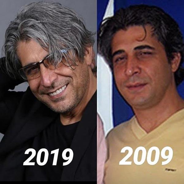 چالش عکس 10 سال امیر غفارمنش