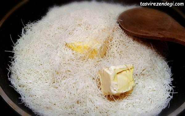 شیرینی کنافه کادایف