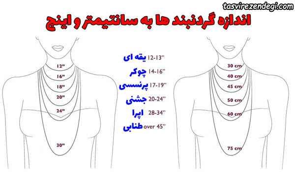 انواع گردنبند