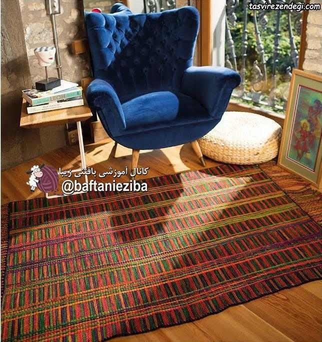 قالیچه قلاب بافی