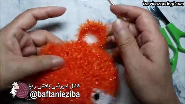 آموزش بافت اسکاج روباه