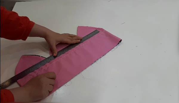 آموزش دوخت دمکنی گل 6 پر