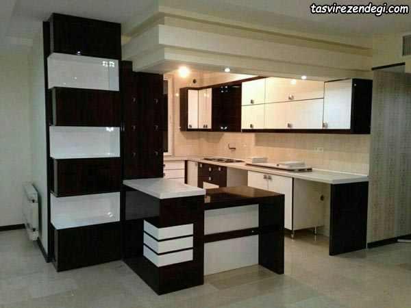 کابینت آشپزخانه های گلاس ایرانی