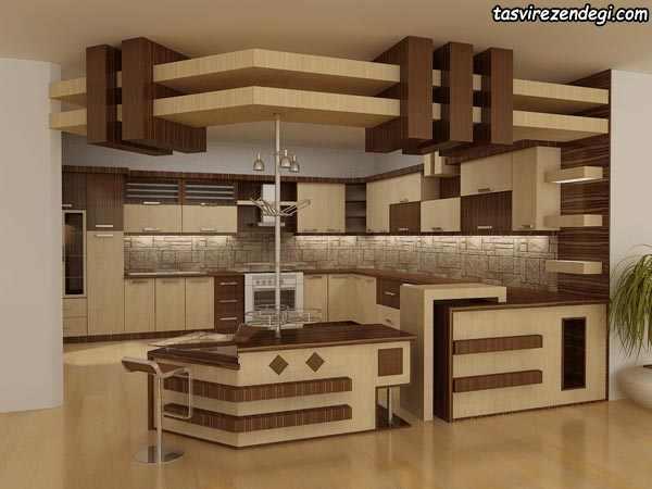 مدل کابینت ام دی اف آشپزخانه
