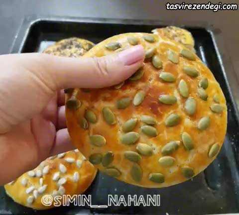 نان جو خانگی