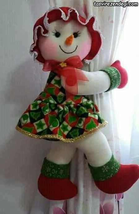 پرده گیر عروسکی بچگانه