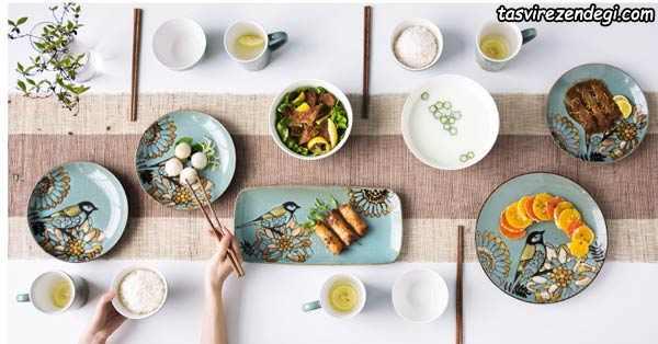 سرویس چینی غذاخوری پذیرایی