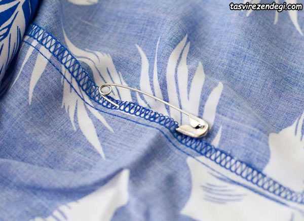 چسبیدن لباس به تن