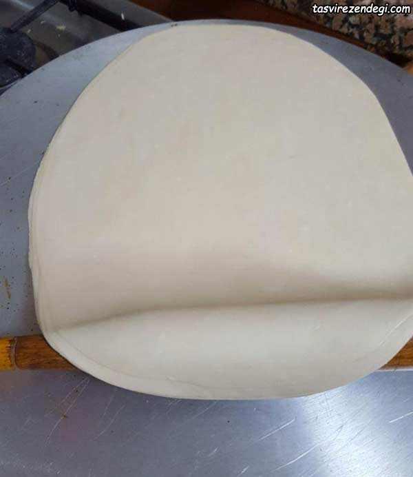طرز تهیه خمیر سمبوسه
