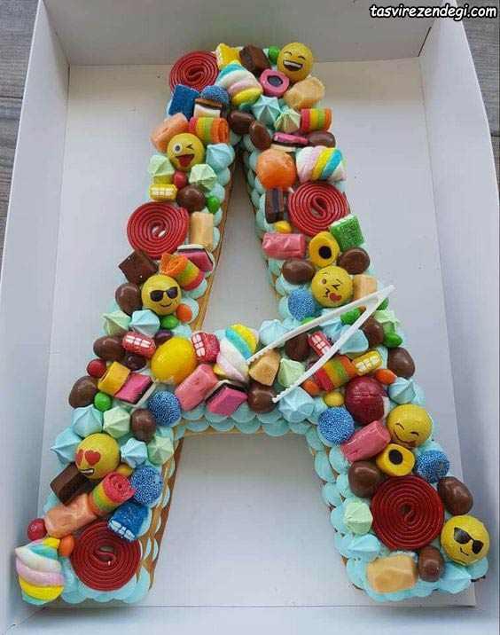 تزیین کیک بیسکویت A