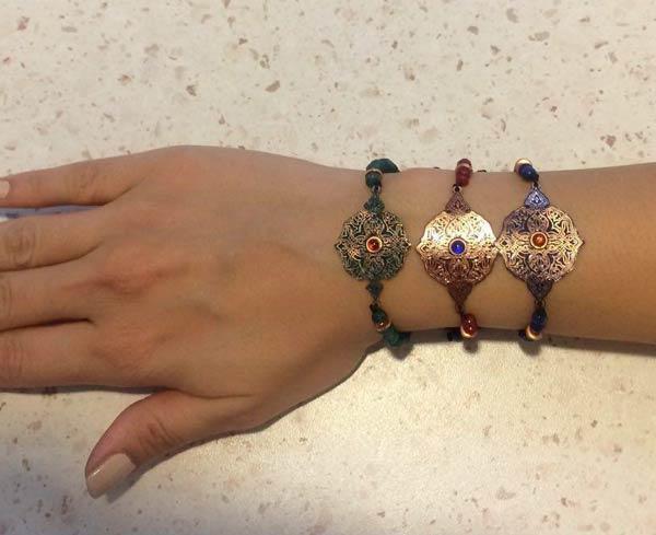 عکس دست بند زنانه