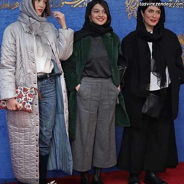 مدل لباس هنرمندان در جشنواره فیلم فجر