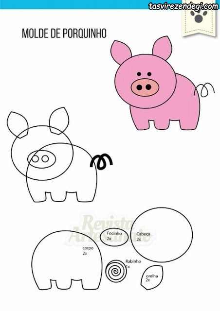 الگوی خوک نمدی