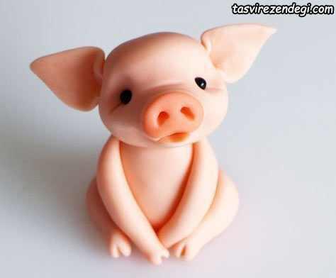 عروسک خوک خمیری