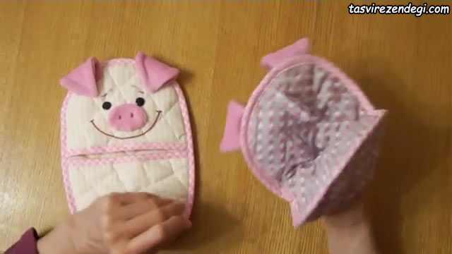 آموزش دوخت دستگیره خوک