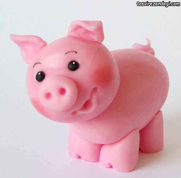 آموزش ساخت خوک خمیری