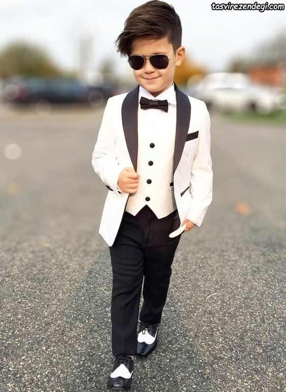 مدل لباس پسرانه عید کت شلوار