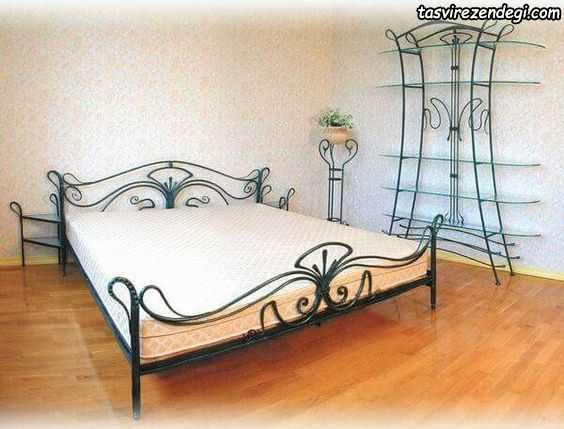 مدل تخت دو نفره فرفورژه