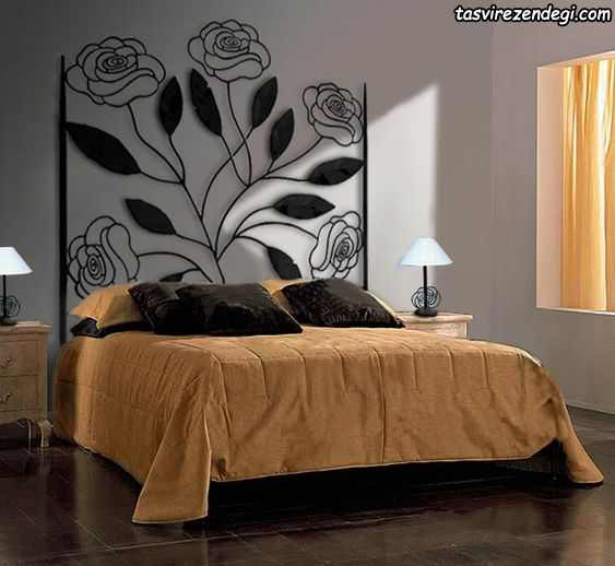 مدل تختخواب تاج بلند