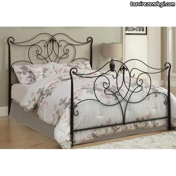 مدل تختخواب فلزی فرفورژه