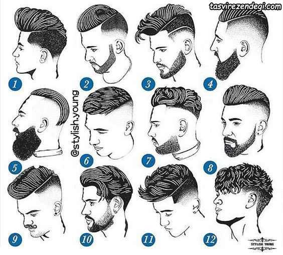 انواع مدل مو مردانه فشن