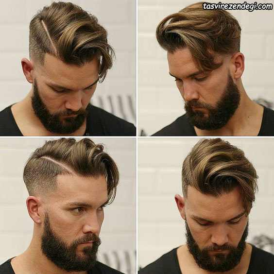 استایل موی کوتاه مردانه