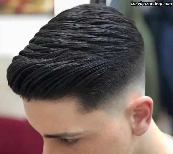 مدل مو بغل سفید پسرانه مردانه