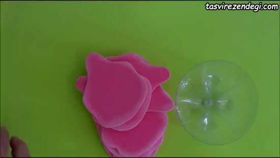 ساخت ظرف هفت سین گل رز