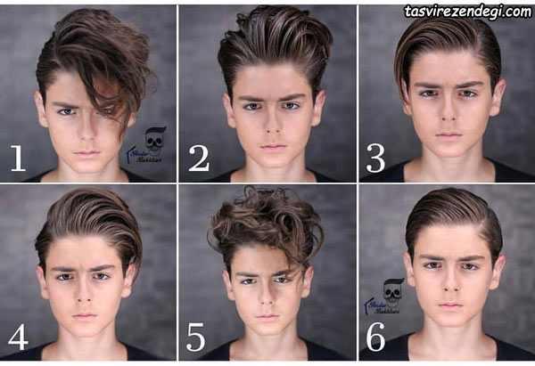 مدل موی کوتاه بچه پسر