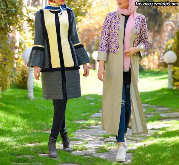 دو مدل مانتو برای عید
