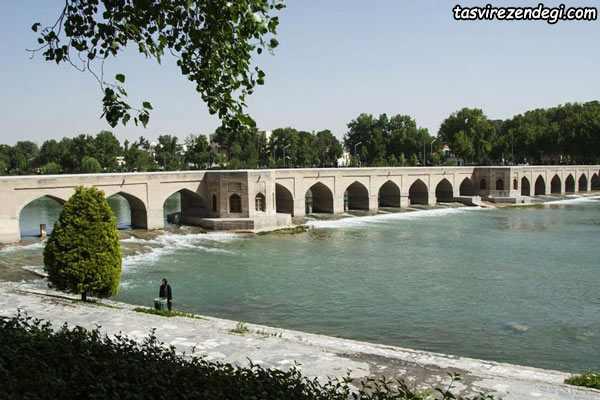 پل چوبی اصفهان
