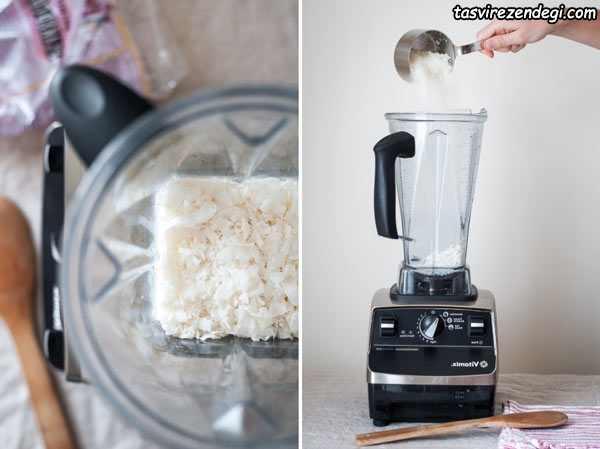 طرز تهیه شیر نارگیل خانگی