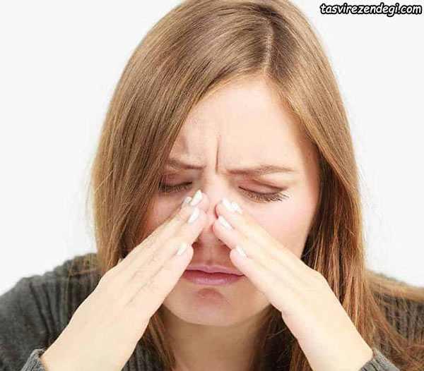 درمان گرفتگی بینی با کافور