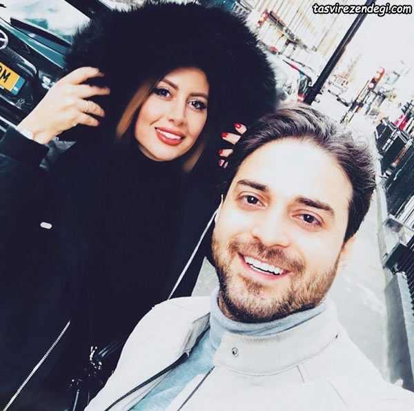 بابک جهانبخش و همسرش پریا پرتوی فرد