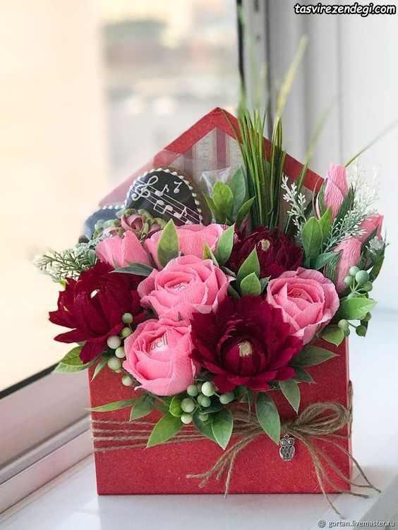 عکس مدل باکس گل خواستگاری