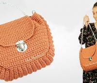 آموزش بافت کیف دستی زنانه قلاب بافی