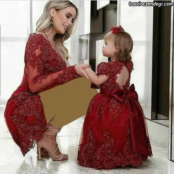 ست مادر دختر مجلسی گیپور