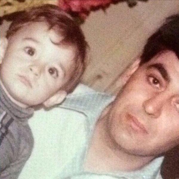 عکس محمدرضا گلزار و پدرش