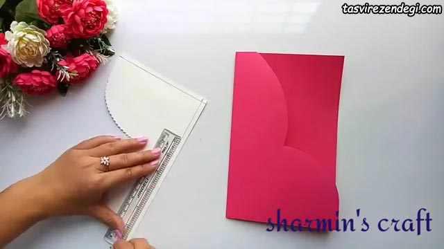 آموزش ساخت کارت پستال تولد